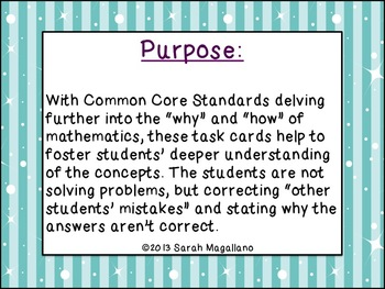 Math Task Cards: Common Core (2nd Grade)