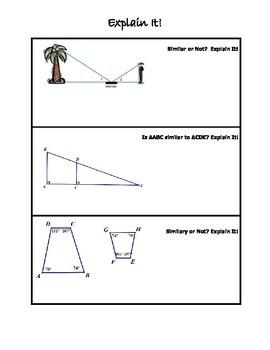 Explain It - Similar or Not