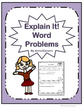 Explain It! Word Problems