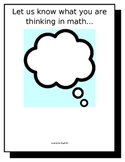 Explain THINKING In Math
