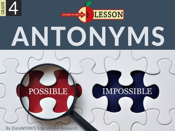 Explain Words by Relating Them to their Antonyms