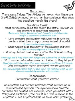 Explain Your Thinking Math Prompts {Operations and Algebraic Thinking}