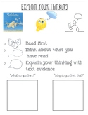 Explain Your Thinking Strategy Group Poster