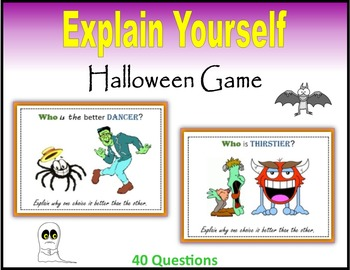 Explain Yourself (Halloween Game)