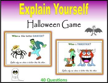 Explain Yourself (Halloween Game)
