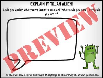 Explain it to...an alien!