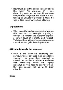 Explaining Audience