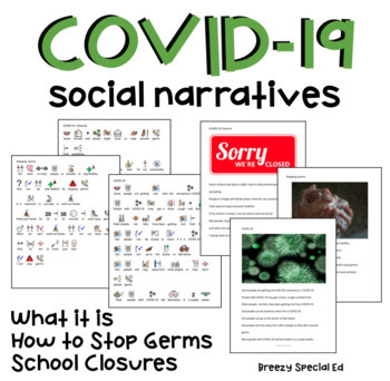 FREE Coronavirus / COVID-19 Social Stories