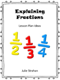 Explaining Fractions: Ideas for expla