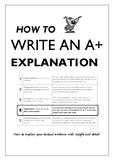 Explaining Literary Techniques