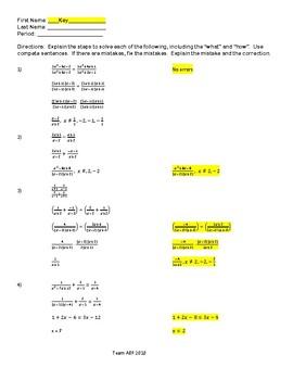 Explaining Rational and Logarithms