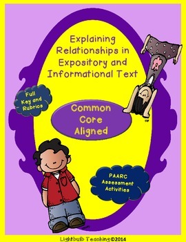 Explaining Relationships within Informational and Expository Texts