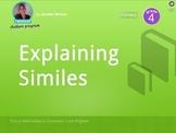 Explaining Similes