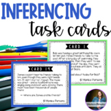 Inference Task Cards - Explaining the Text