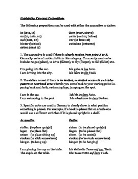 Explaining Two-way Prepositions (an, in, neben etc.)