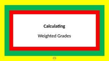 MS Power Point Presentation on How to Calculate Weighted Grades