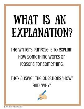Explanation Writing - How to Catch a Turkey