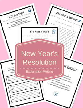 Explanation Writing: New Year's Resolution