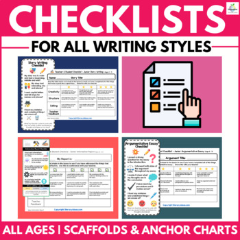 Writing Checklists for Students and Teachers