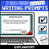 Explanatory/Expository Digital Writing Prompts for Grades 3, 4, 5