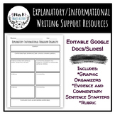 Explanatory/Informational Writing Resources