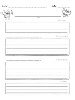 Explanatory (Informational) Writing Template