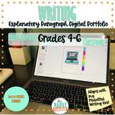 Explanatory Paragraph Writing Portfolio for Distance Learning