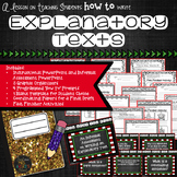 Explanatory Text Writing Lesson