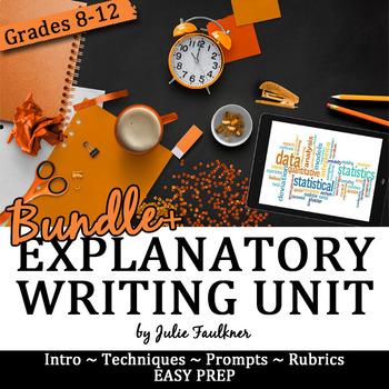 Explanatory Writing Complete Unit, Bundle