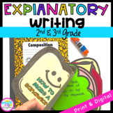 Explanatory Writing Interactive Journal W.2.2 & W.3.2- 2nd & 3rd Grade