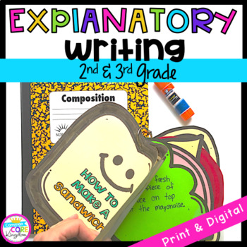 Explanatory Writing Interactive Journal W.2.2 & W.3.2- 2nd & 3rd Grade