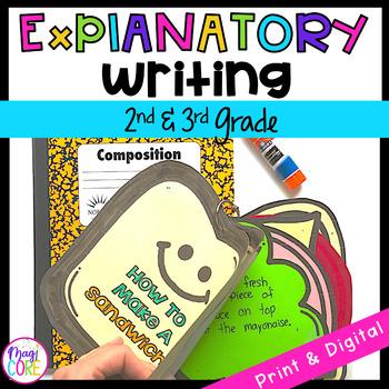 Explanatory Writing Interactive Journal W.2.2 & W.3.2- 2nd