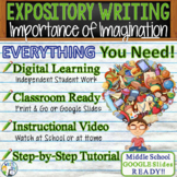 Expository Writing Lesson Prompt w/ Digital Resource - Imp