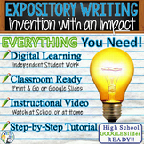Expository Writing Lesson / Prompt w/ Digital Resource  In