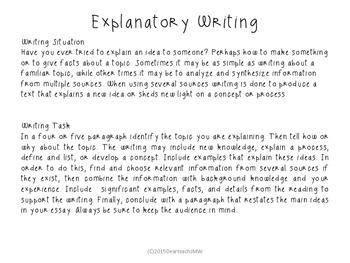 Explanatory Writing the Easy Way