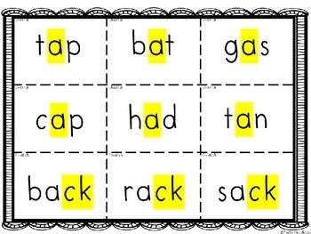 Explicit, Direct Decoding of Short Vowel Words