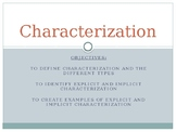 Explicit (Direct) and Implicit (Indirect) Characterization