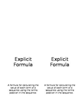 Explicit Formula Flip Book