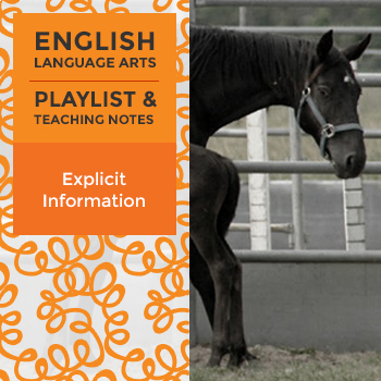 Explicit Information – Playlist and Teaching Notes