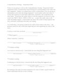 Explicit Instruction Lesson Plan - Sequential Order