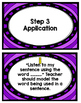 Explicit Instruction of High Frequency Words-- A Guide and Structure.