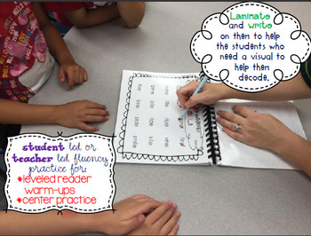 Explicit Phonics Templates for Reading Wonders Leveled Readers {On}