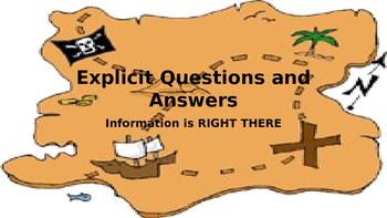 Explicit Question and Answer