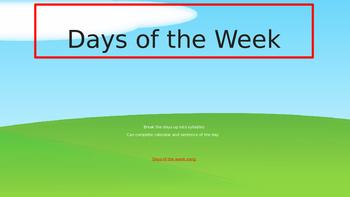 Explicit Teacher Literacy Warm Up Term 1 Week 3 Pre-primary