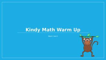 Explicit Teacher Math Warm Up Term 1 Weeks 2 and 3 Kindy