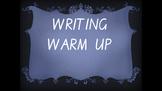 Explicit Teaching Writing Warm Up Term 1 Week 2 Year 1