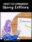 Explicit Text Comprehension Using Letters (#2 - Samira & Olivia)