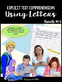 Text Comprehension for Speech-Language Therapy Using Lette