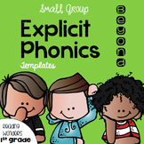 Explicit Vocabulary Templates for Reading Wonders Leveled Readers {Beyond}