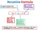 Explicit and Recursive Arithmetic Sequences Solution Summary